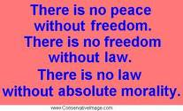 Morality and freedom