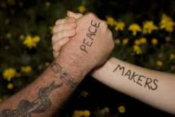 peacemakers on wrists