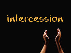 prayer intercession word spelled out