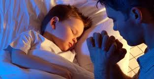 praying for our children bedside