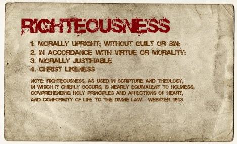 righteousness defined