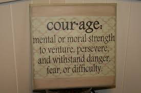 courage defined moral strength