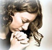 praying parent mom